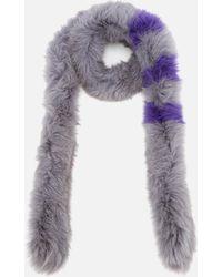 BKLYN - Fox Fur Scarf - Lyst