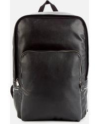 Calvin Klein Smooth Logo Tape Backpack - Black