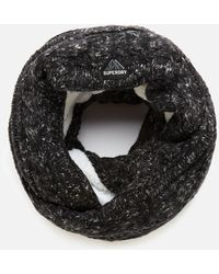 Superdry Gracie Cable Snood - Black