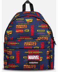 Eastpak X Marvel Padded Pakr Backpack - Blue