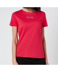 BOSS by HUGO BOSS Boss Eloga T-shirt - Pink