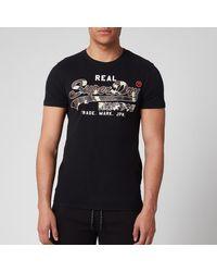 Superdry Vintage Logo Camo T-shirt - Black