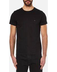 Tommy Hilfiger - New Stretch Crew Neck T-shirt - Lyst