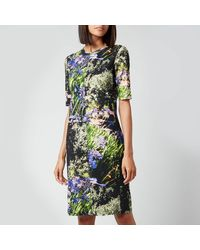 PS by Paul Smith Printed T-shirt Dress - Green