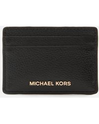 MICHAEL Michael Kors Jet Set Card Holder - Black