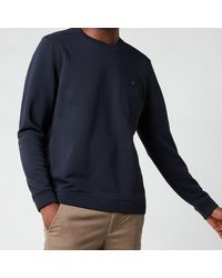 Ted Baker Singer Crewneck Sweatshirt - Blue