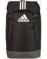 841ef4bf0a2e Lyst - adidas By Stella McCartney Uneven Stripe Bucket Backpack in ...