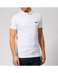 Superdry Classic S/s Pique Polo Shirt - White