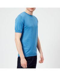 John Smedley - Belden 30 Gauge Sea Island Cotton T-shirt - Lyst
