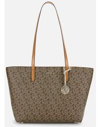 DKNY Bryant Park Medium Tote Bag - Brown