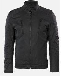 Superdry Carbon Biker Jacket - Black