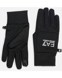EA7 Train Softshell Gloves - Black