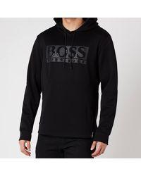 BOSS by Hugo Boss Boss Athleisure Soody Diamond 1 Hoodie - Black