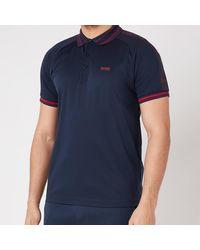 BOSS by Hugo Boss Boss Athleisure Paddy 4 Polo Shirt - Blue