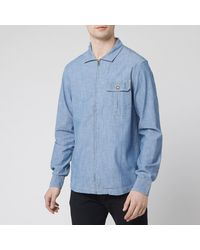 The North Face Long Sleeve Berkeley Chambray Shirt - Blue