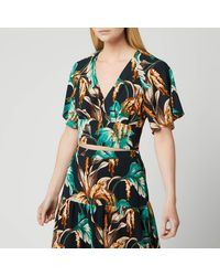 Whistles Tropical Floral Top - Green
