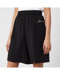 Calvin Klein Travel Crepe Shorts - Black