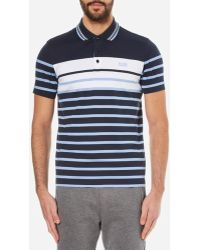 BOSS Green - Men's Paule 3 Striped Polo Shirt - Lyst