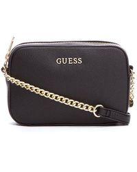 Guess - Isabeau Mini Cross Body Top Zip Bag - Lyst