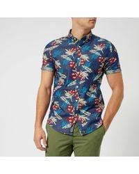 Superdry - Miami Loom Short Sleeve Shirt - Lyst