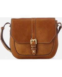 Joules - Saddle Leather Bag - Lyst