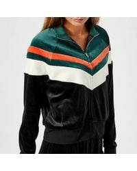 Juicy Couture - Colourblock Lightweight Velour Palisades Jacket - Lyst