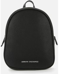 Armani Exchange Mini Backpack - Black