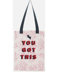 Radley Motivational Medium Tote Bag - Multicolour