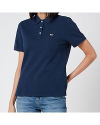 Tommy Hilfiger Tommy Classics Polo-shirt - Blue