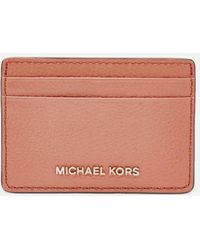 MICHAEL Michael Kors Jet Set Card Holder - Pink