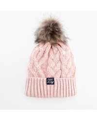 Superdry - Arizona Cable Beanie - Lyst