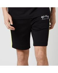 BOSS by Hugo Boss Headlo Jersey Shorts - Black
