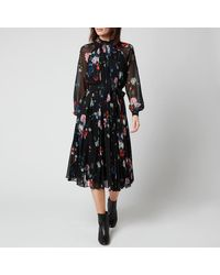 Ted Baker Naniro Midi Dress - Black