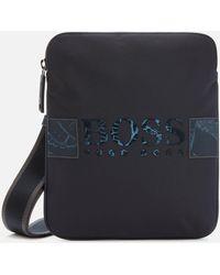 BOSS by HUGO BOSS Pixel Mini Zip Envelope Bag - Blue