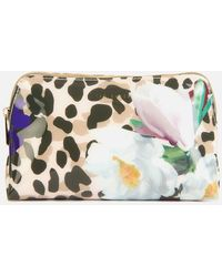 Ted Baker Anesa Wilderness Small Washbag - Multicolour