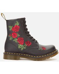 Dr. Martens - 1460 Vonda Softy T Leather 8-eye Boots - Lyst