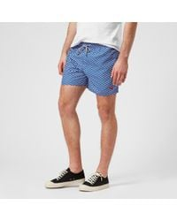 Ted Baker - Caven Patterned Swim Shorts - Lyst