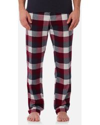 Joules - Checked Lounge Trousers - Lyst