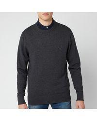 Tommy Hilfiger Pima Cotton Cashmere Sweater - Grey