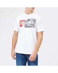 DIESEL - T-just Xh T-shirt - Lyst