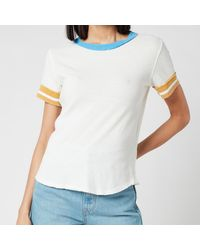 Free People Lets Do This T-shirt - White