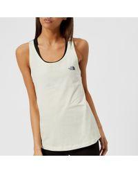 The North Face   Redbox Sleeveless T-shirt   Lyst