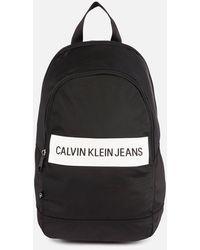 Calvin Klein Rounded Bp43 Backpack - Black