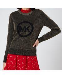 MICHAEL Michael Kors Mk Metallic Sweater