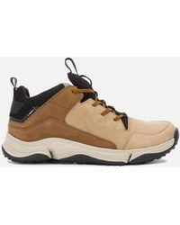 Clarks Tri Path Mid Sneakers - Brown