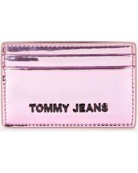 Tommy Hilfiger Credit Card Holder - Metallic