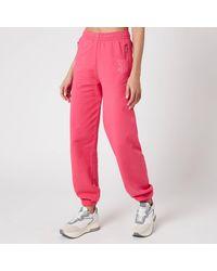 Les Girls, Les Boys Loopback Slim Joggers - Pink