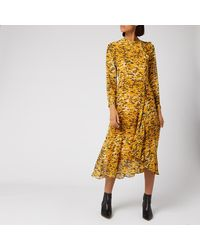 Whistles Ikat Animal Ines Dress - Multicolour