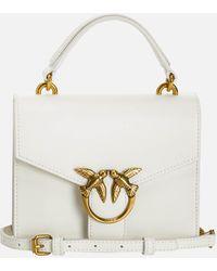 Pinko Love Mini Top Handle Bag - White