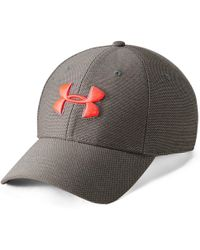Under Armour - Heathered Blitzing 3.0 Cap - Lyst